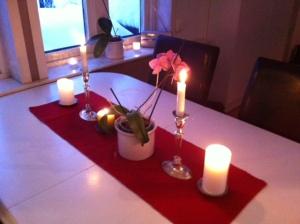 Julpynt i köket